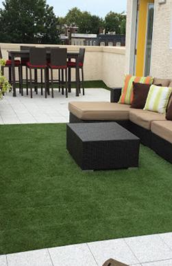 terrace artificial grass dubai