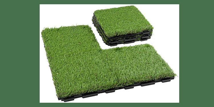 Fake Grass Flooring Tiles
