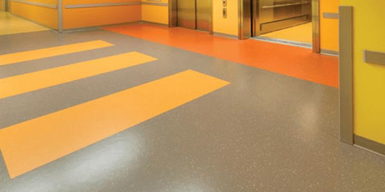 Hospital Vinyl Flooring Abu Dhabi Installation Services