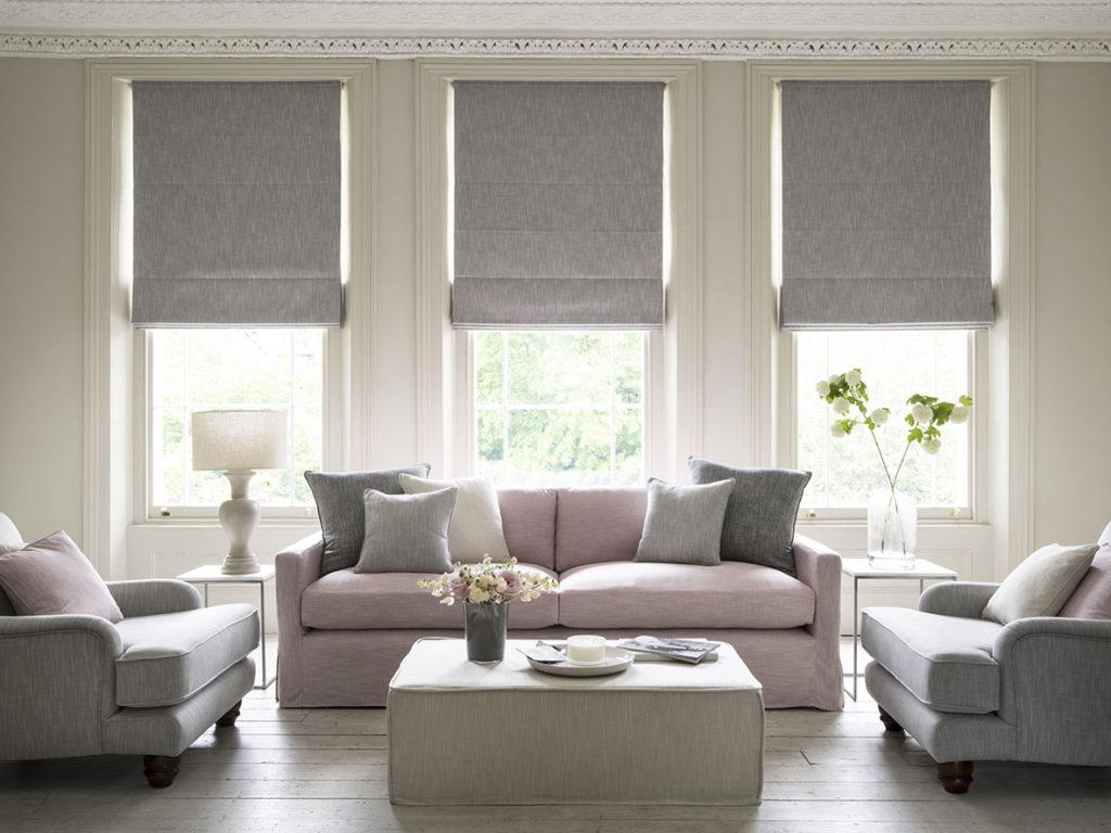 roman Blinds for living room