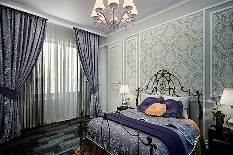 Made to measure bedroom curtains Dubai