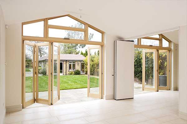 Wooden Folding Doors