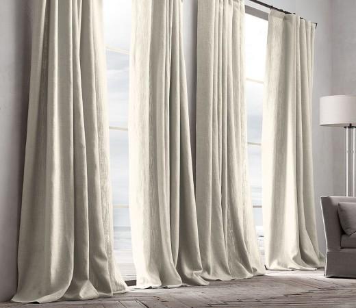 linen curtains Dubai